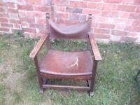antique monks chair rushden £15