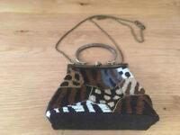 Stunning beaded handbag