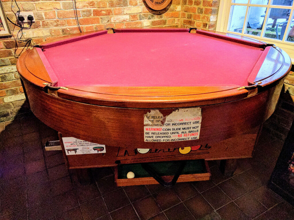 Rotapool Circular Pool Table In Newbury Berkshire Gumtree - Circular pool table