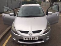 Mitsubishi Grandis, Diesel, Manual, Silver, Family Car