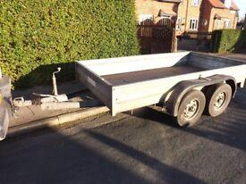 wessex 10x5 2.6ton gross car trailer