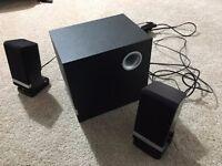 Wharfdale 2.1 Speaker System / PC Speakers