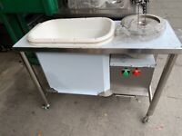 NEW CHICKEN BREADING TABLE FAST FOOD RESTAURANT CATERING COMMERCIAL SHOP