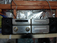 technics hd350 hifi with tangent speakers lovely condition