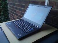 "Lenovo ThinkPad T420s i7 2.8GHz / 3.5GHz 160GB SSD 14""1600x900 Professional Laptop"