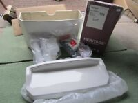 Brand New Heritage PGRW01 Granley cistern & lid including internal fittings White.