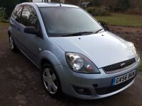 Ford Fiesta 1.2L Petrol Zetec Climate 56/2006 Reg in Light Blue for Sale