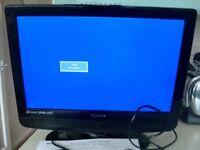 TECHNIKA 19 INCH LCD TV / DVD PLAYER