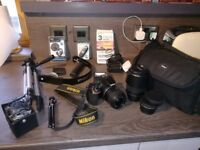 Nikon D5500 Digital SLR Camera - LENSES - PLUS EXTRAS - VIEW NOW