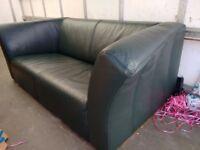 IKEA living sofa set. Double & Triple, Very Good Condition, Navy Colour