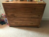 Chest of drawers - Indian Wood