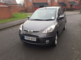 Hyundai i10 2009 1.2 petrol. One owner, mint condition