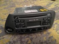 Ford KA cd car original stereo good condition