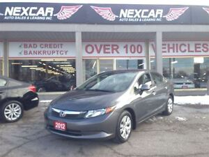 2012 Honda Civic LX AUT0 A/C CRUISE ONLY 95K
