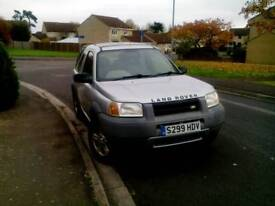 Landrover freelander xedi 2ltr sorry now sold
