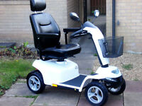 Days Strider ST5D 8mph Stylish Hi-Tech Mobility Scooter. FREE Delivery. Mint Condition.