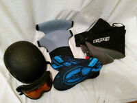 Kayaking/Canoeing Equipment, suit age 15-17