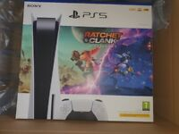 Sony PS5 PlayStation 5 Disc UK Console Brand New with Ratchet & Clank: Rift Apart Ps5 Game Bundle