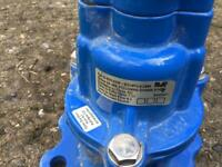 AVK FIRE HYDRANT UNDERGROUND SQUAT ON/OFF VALVE SERIES 29/388 TYPE 2 LOOSE STOPPER BS 750 DN 80mm.