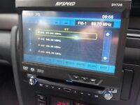 Car DVD/CD player.