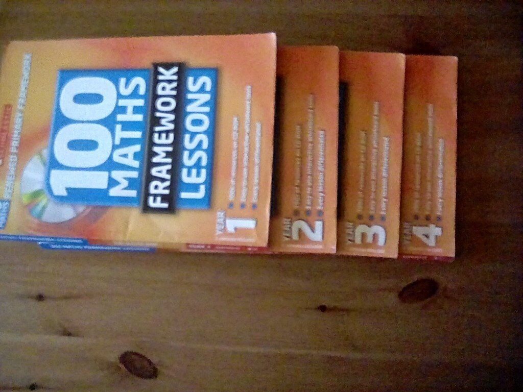 bundle of books for 2006 curriculum. Perfect for NQT and students.