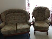 I'm selling sofa and chair