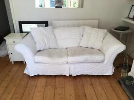Two lovely matching sofas/sofa bed for sale