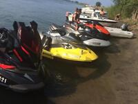 Seadoo 1500 cc supercharged 4 temps