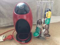 NESCAFE Dolce Gusto Jovia Manual Coffee Machine - Red