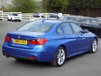 BMW 3 SERIES 320D 2.0 XDRIVE M SPORT 4dr (180) ** Sat Nav + Leather ** (blue) 2013