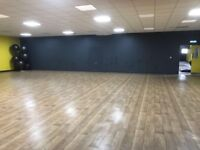 Studio space to rent at just £20/hrly, Located at Xercise4Less, Rugby CV211DU