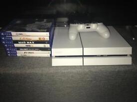 Ps4 consoles and 7 games open to offers
