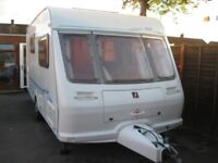 for sale fleet wood bali 2001 2 berth with full awning in very good condition