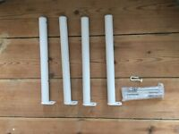 White radiator legs (new in box)