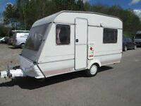 MONZA MAROUDER 400 D FOUR BERTH TOURING CARAVAN SUPER LIGHTWEIGHT VERY CLEAN AND TIDY READY TO GO !!