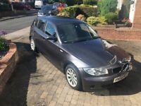 *BMW 1 SERIES 2.0TD (56 Plate) 118d ES Hatchback 5d 1995cc - Metallic Grey*