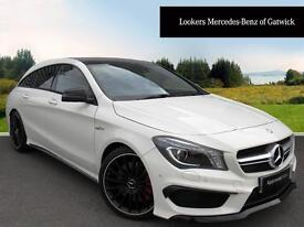 Mercedes-Benz CLA CLA45 AMG 4MATIC (white) 2016-02-09