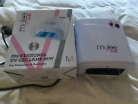 Mylee 36W professional UV lamp in excellent condition in original box with instructions