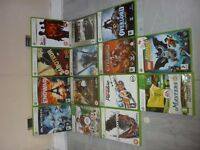 Xbox 360 games.(14 in total) Various genre, various ratings. Great additions to your collection.