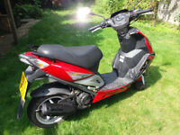 2010 Sym Jet Sport X SR50 Spares or repair! £ 200