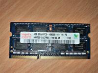 DDR3 SODIMM Laptop Memory - Hynix 4GB 1333Mhz CL9