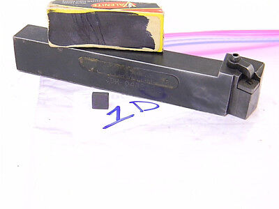 Lot 1d Kennametal Carbide Indexable Turning Tool Holder With Inserts Sng 322
