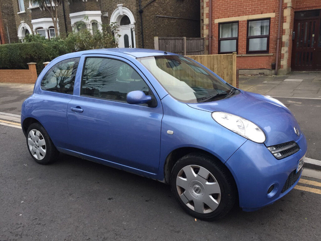 2004 NISSAN MICRA AUTO 1.2 AUTOMATIC 3 DOORS only 54k milage EXCELENT RUNNER