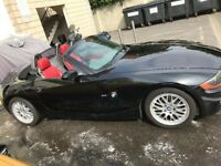 BMW Z4 CONVERTIBLE, RED LEATHER , heated seats