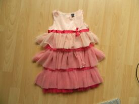 GAP GIRLS AGE 3 YEARS PINK NET TIER PARTY DRESS