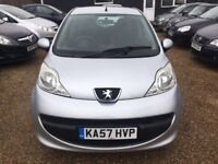 PEUGEOT 107 1.0 5 DR 2007(57)* IDEAL FIRST CAR* CHEAP INSURANCE* £20 ROAD TAX A YEAR