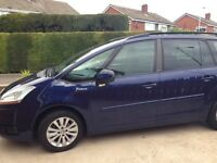 Citroen Grand Picasso 08 with low mileage