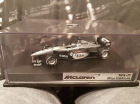 Mika Hakkinen - McLaren MP4-15 F1 Car by Hot Wheels, Rare Diecast Model