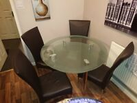 Round Dining Table In Surrey Dining Tables Chairs For Sale Gumtree