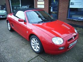 MGF 1.8 SPORT 18000 miles